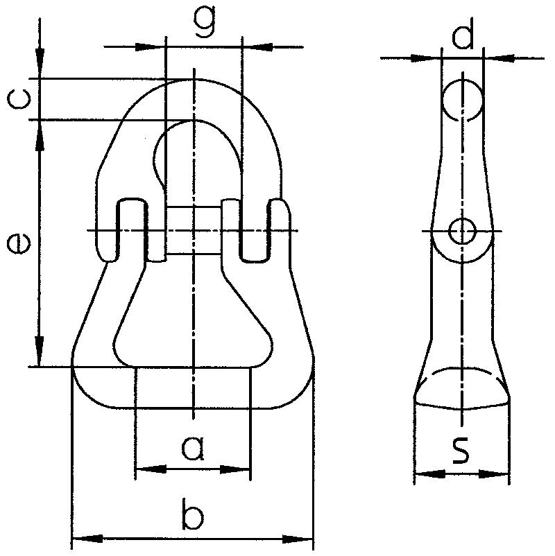 Rundschlingen-Kupplung-RSK-zeichnung