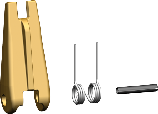 Geschmiedete Sicherungsfallengarnitur