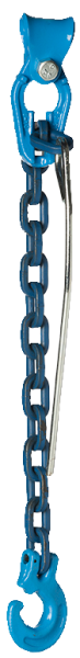 Forst- Kuppelchokerketten mit Kuppelschlitzring und Durchstecknadel