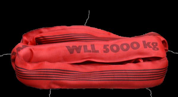 Rundschlinge Premium Plus 5.000 kg mit Doppelmantel