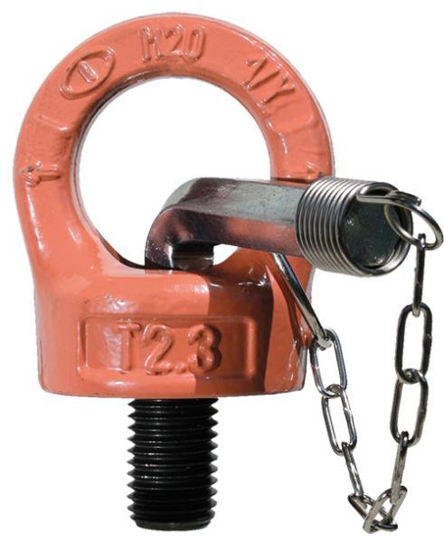 Ringschraube (mit Imbusschlüssel), drehbar, Güteklasse 10