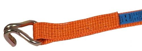 Zurrgurt Losende 50 mm Bandbreite, orange