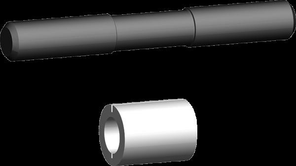 Bolzen-Garnitur für Verbindungsglied und Rundschlingen-Kupplung BG-V/S