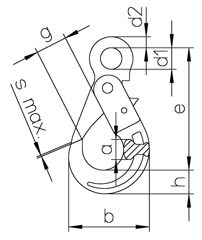 Sicherheitshaken-mit-OEse-HSB-S-zeichnung
