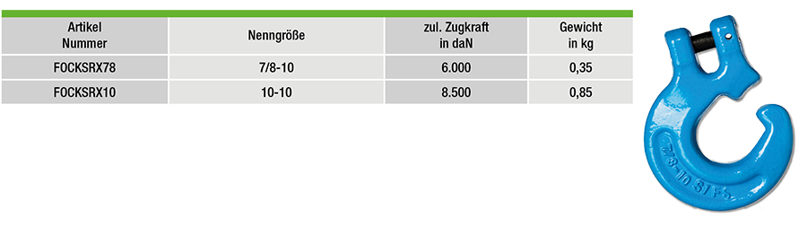 FOCKSRX78-tabelle