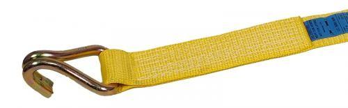 Zurrgurt Losende, 75 mm Bandbreite, gelb