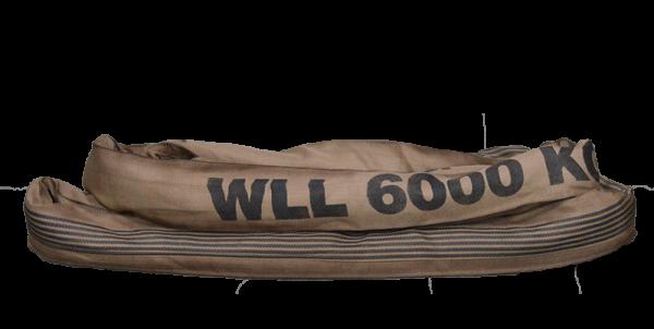 Rundschlinge Basic Plus 6.000 kg mit Einfachmantel (BRS6000..)