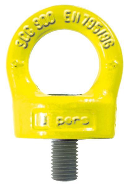 Ringschraube für Absturzsicherung nach EN 795, drehbar, Güteklasse 10