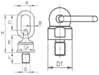 Anschlagwirbel-zeichnung