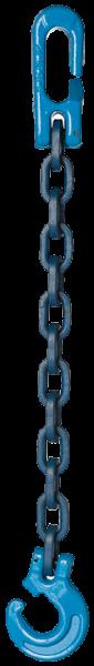 Forst- Kuppelchokerketten mit Kuppelschlitzring