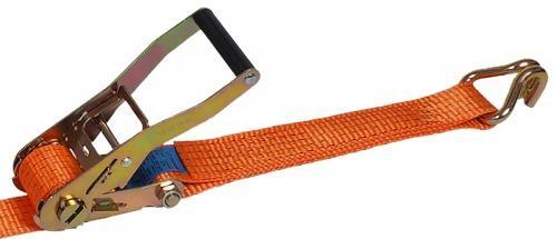 Zurrgurt Festende 50 mm Bandbreite, orange